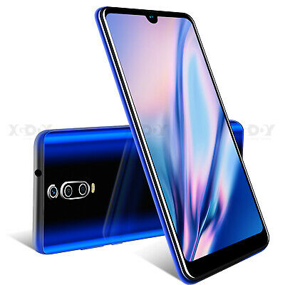 6.3 in Unlocked 2019 Smartphone Android 9.0 Mobile Phone Dual SIM Free Quad Core