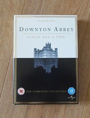 Downton Abbey Series 1 & 2 The Complete Collection 7 discs