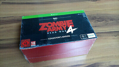 Zombie Army 4: Dead War Collector's Edition XBOX ONE - NEW !!