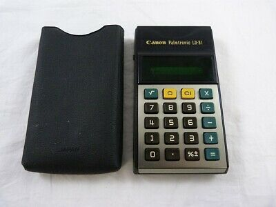 Canon Palmtronic LD-81 Calculator