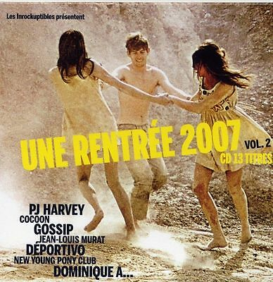 Compilation Les Inrockuptibles ‎CD RENTREE 2007 - France (VG+/G) 15 TITRES