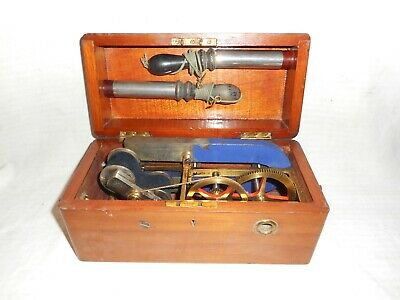 antique magneto electric shock therapy machine