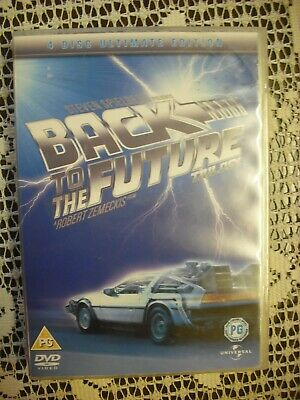 Back To The Future Trilogy Dvd 4 Disc Ultimate Edition Box Set