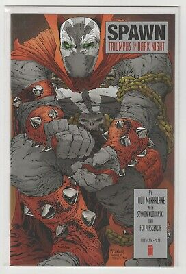 Spawn #224 (2012) Tribute Cover By Todd McFarlane & Sketch Variant Both NM