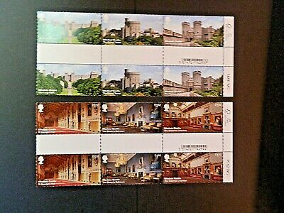 GB 2017 SG3920-25 Windsor Castle (1st issue)