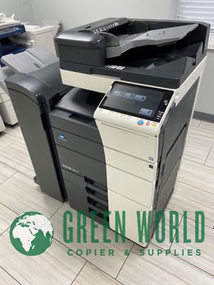 Konica Minolta bizhub C558 with Finisher! 55 PPM! 97k