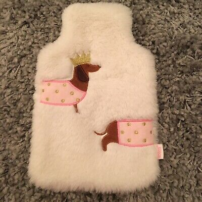 Totes Sausage Dog Hot Water Bottle Cover