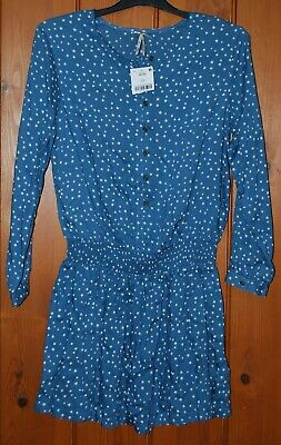 BNWT, Next, Girls, Light, Blue, Casual, Party, Tunic Dress, 11 years /146cm
