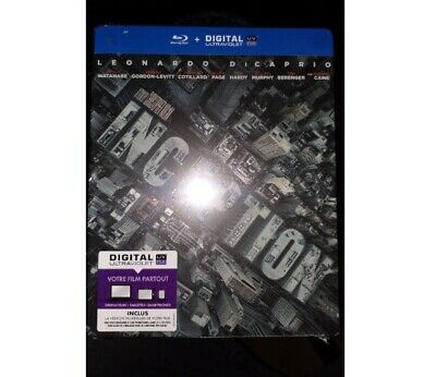 Inception Bluray Édition Steelbook Neuf Sous Blister