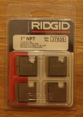 "Ridgid Replacement Pipe Dies 1"" NPT Cat No 37835"