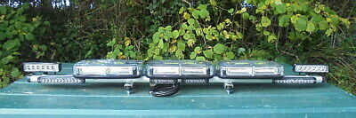 Green Led Low Profile Magnetic Beacon Lightbar - New