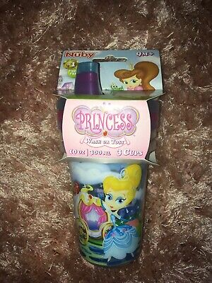 Nuby Princess Wash Or Toss Cups 300ml