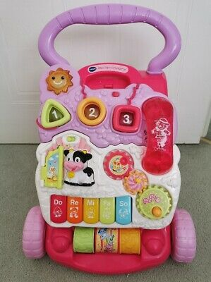 VTech First Steps Baby Walker PINK Suitable From 6 to 30 Months