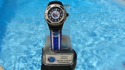 Calcio Montre Racing club de Strasbourg club officiel montre calcio Enfant 1980