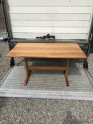 Ercol Plank Topped Dining Table, 1970 S Kitchen Table