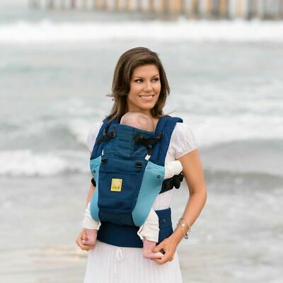 LilleBaby Complete Airflow Baby Carrier 6 in 1,   Blue Aqua , NIB
