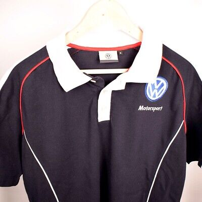 Original Volkswagen Motorsport VW Polo-Shirt Größe M / L