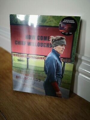 Blufans OAB Three billboards outside Ebbing Missouri bluray steelbook lenti slip