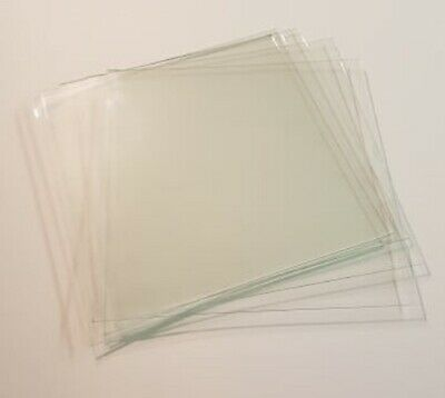 5 Sheets Of Replacement Glass For 23Cm X 23Cm Ribba Box Frames