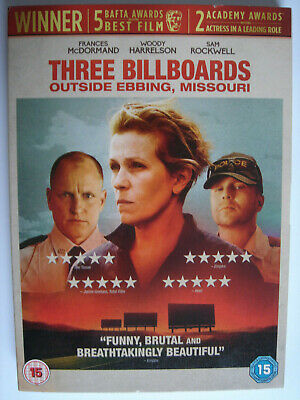 Three Billboards Outside Ebbing, Missouri -  DVD PAL Region 2