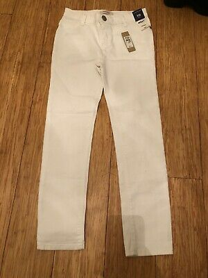 Bnwt River Island Girls White Molly Jeans Jeggings Age 10