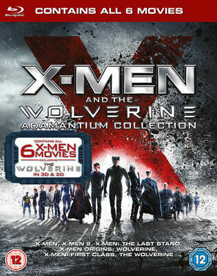 X Men And The Wolverine Adamantium Collection 8 Discs Blu Ray New And Sealed