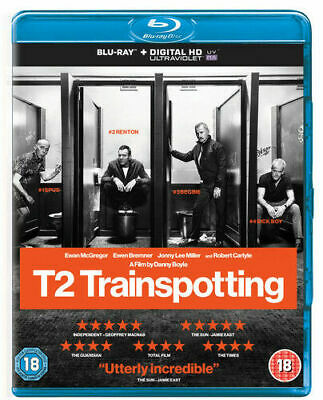 T2 Trainspotting (Ewan McGregor) Limited Edition Blu Ray New And Sealed