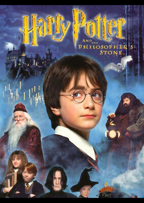 Harry Potter And The Philosophers Stone Art Print Poster