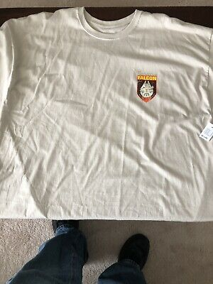 New with tags Disney Parks Star Wars Millennium Falcon Tan Tshirt! 3XL