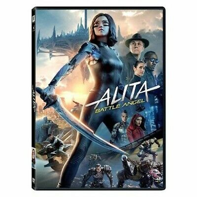Alita: Battle Angel (DVD, 2019) Brand New & Sealed Free Shipping Included