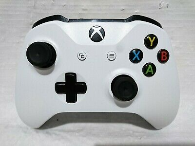 Microsoft Xbox One S Controller White - Excellent Condition