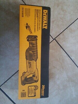 Brand New Factory Sealed DeWALT DCS380B 20V Reciprocating Saw (Tool Only)
