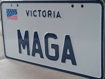 Maga   Victorian Personalized Number Plates