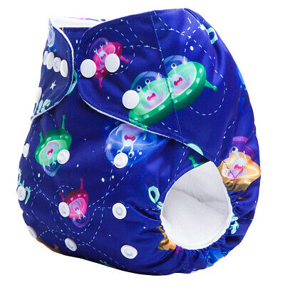 Brand New Reusable Modern Cloth Nappy (MCN) Microfiber Insert Blue UFO