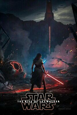 STAR WARS The Rise The Skywalker Wall Art Wall Poster - Glossy - A4 A3 A2 A1 UK