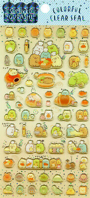 "San-X Sumikko Gurashi ""Colorful Clear Seal"" Stickers (""Bakery"")"