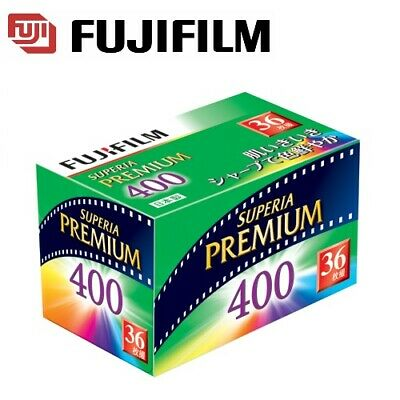 Fujifilm FujiColor FUJI SUPERIA PREMIUM 400 ISO Color 35mm 135 36exp Film  US