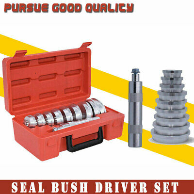Solid Automotive Race Bearing Seal & Axle Bushing Driver Set BOX (10PCS)
