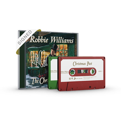 Robbie Williams - The Christmas Present  CD Signed Cd  & Tapes Set (Pre-order)