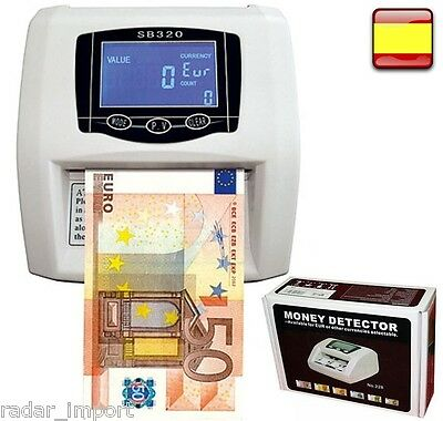 Counter Detector Banknotes Fake Automatic LCD for Euros New Banknotes