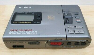 Sony Minidisc Recorder MD-R30 MD Walkman