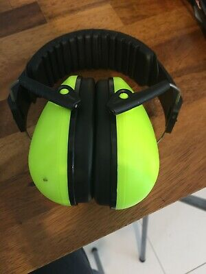 Junior Ear Defenders Green Safety & Workwear Ear Protection Silverline