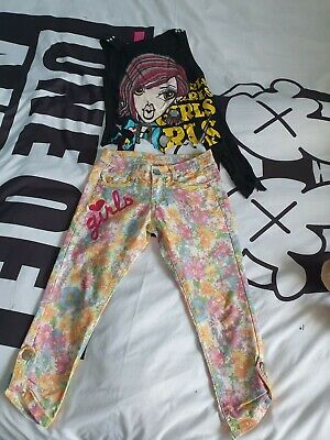 Girls Cute Outfit Age 6 Jeans And Tshirt