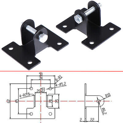 2pcs Mounting Brackets Link for DC12V/24V Linear Actuator Motor Heavy Duty J7