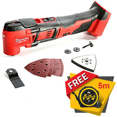 Milwaukee M18BMT-0 M18 18V Compact Oscillating Multi Tool Body + Free Tape 5M