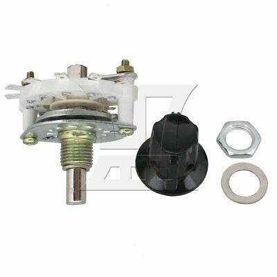 Selector Rotary Switch Middle 1 Deck 1 Poles 7 Positions