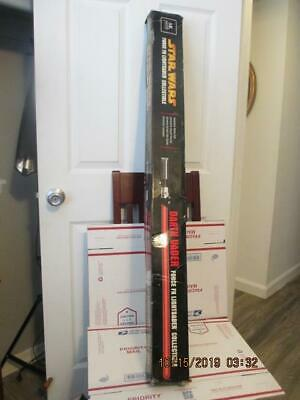 Q85) Master Replicas Star Wars Darth Vader Force FX Lightsaber 2005 No Stand MIB