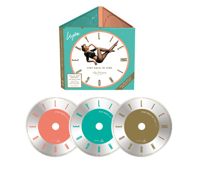 Kylie MINOGUE Step Back In Time 3CD Expanded Edition - Released 22/11/2019