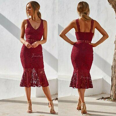 Brittany Dress - Red