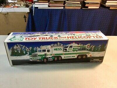 Hess 1995 Toy Truck and Helicopter New MINT w/Original Box